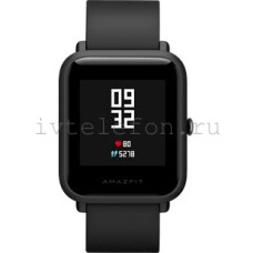Часы Xiaomi Amazfit Bip (black) Global Version
